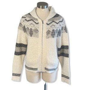 LINE the Label Cardigan Sweater Zip Cowichan